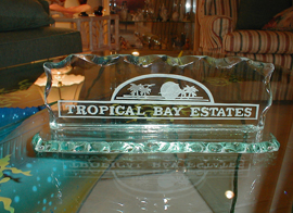 Art Glass Tropical Bay Estates Logo