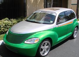 Auto Glass Cruiser Car