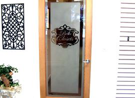 Decorative Glass Large Logo