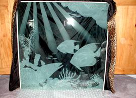 Glass Sandblasting Reef