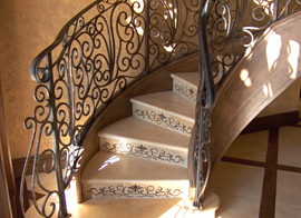 Stone Etching Stone Stairs