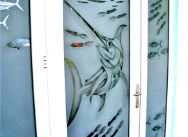 Frosted Glass FIsh